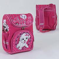 Рюкзак школьный каркасный с 1 отделением и 3 карманами, спинка ортопедическая, 3D принт - 186120