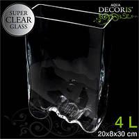 Аквариум Aquael 243628 Aqua Decoris Welle аквариум волна 4л