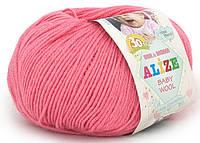 """Детская пряжа Alize Baby Wool """"33"""" для Ручного Вязания"""