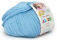 """Детская пряжа Alize Baby Wool """"350"""" для Ручного Вязания"""