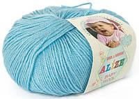 """Детская пряжа Alize Baby Wool """"128"""" для Ручного Вязания"""