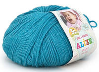 """Детская пряжа Alize Baby Wool """"245"""" для Ручного Вязания"""