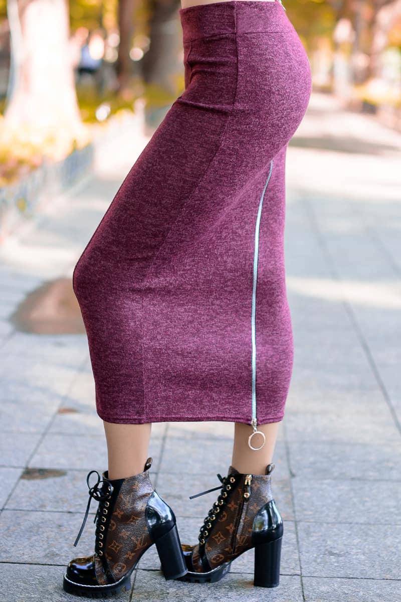 Теплая женская юбка Софи ангора