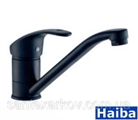 Смесители для умывальника Haiba Mars 004-15 Black