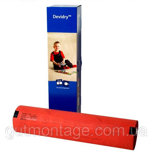 Теплый пол Devi.Греющий мат DeviDry 1х2 м
