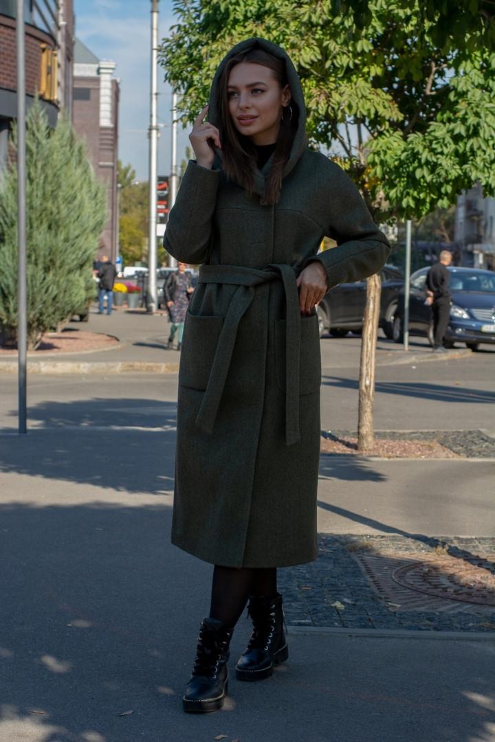 """Демісезонне пальто """"Джойс"""" , тканина: вовна, підкладка жаккард. Розмір: 42,44,46,48, 50 Кольори різні (1275)"""