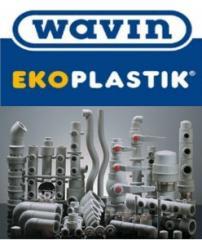 Полипропиленовые трубы и фитинг wavin ekoplastik (чехия)
