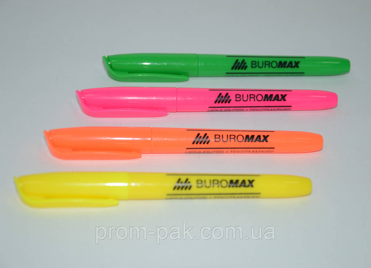 Текст-маркер, JOBMAX, круглый,цвета в ассортименте