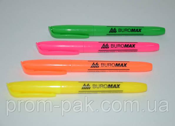 Текст-маркер, JOBMAX, круглый,цвета в ассортименте, фото 2