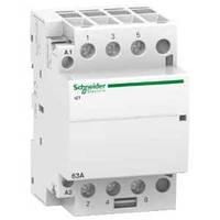 Модульный контактор Schneider Electric Acti9 63A 3НO 230V A9C20863