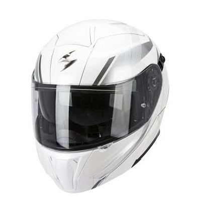 Мотошлем Scorpion EXO 920 Gem (White Silver)