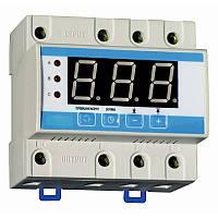 Реле контроля напряжения 3 фазный РКН-3 63А регулируемый