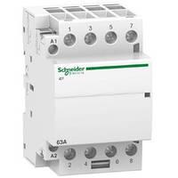 Модульный контактор Schneider Electric Acti9 63A 4НO 230V A9C20864
