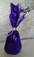 """Грузик для шаров фиолетовый 60 г (до 6 шаров 12"""" (30 см)) гипсовый"""