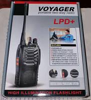 Обзор радиостанции Voyager LPD+