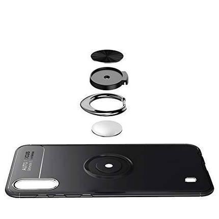 Ударопрочный чехол (Transformer Ring) под магнитный держатель для Xiaomi Redmi 7a, фото 2