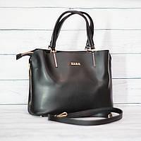 Женская сумка Zara (Зара), черная