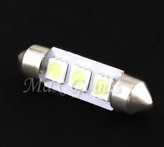 Светодиодная лампа для салона авто 0.9 w 2x супер яркий 39 мм 3 СМД 5050 белый 3 SMD 5050 White