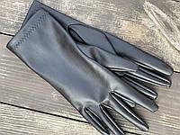 Рукавички з екошкіри GLx1 чорні