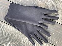 Рукавички з екозамші GNx1 чорні