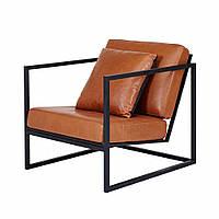 """Кресло """"Сонет"""" кресло лофт, мягкое кресло, кресло для дома, офиса, кафе, кресло на металлическом каркасе,"""