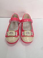 Туфли для девочки коралл р.29,31, фото 1