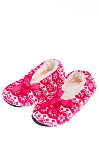 Тапки женские в полоску 120PSATA37018 (Розовый)