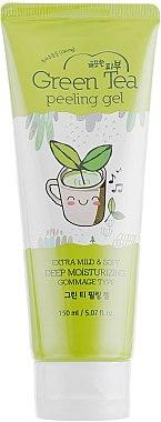 Пилинг-скатка с зеленым чаем Esfolio Green Tea Peeling Gel - 150 мл.