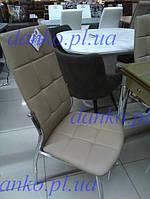Стул N-20-8 кофе- мокко (квадрат) Vetro Mebel, экокожа