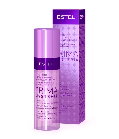 Двофазний ранковий спрей для волосся Estel Prima Mysteria 100 мл