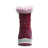 Детские зимние сапоги для девочки на меху Uovo Красные (52064), фото 2