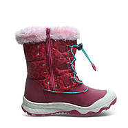 Детские зимние сапоги для девочки на меху Uovo Красные (52064), фото 5