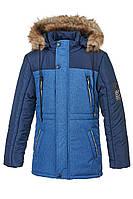 Зимняя куртка на мальчика на овчине курточка детская подростковая зима 152 р