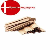 Шпатель деревянный (100 шт) (1см х 9,3см)