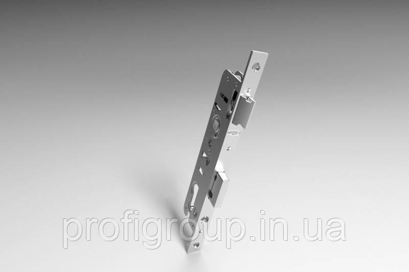Vorne / Замок дверной короткий врезной однотоочковый  VORNE (D35/85) для ПВХ дверей