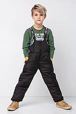 Теплый зимний комбинезон на мальчика, фото 3