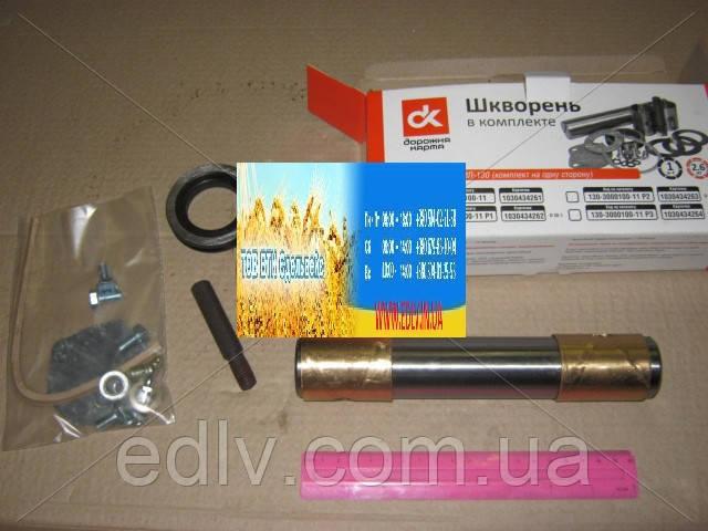 Шкворень в комплекте комплект на одну сторону ЗИЛ 130  130-3000100-11