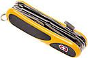 Нож складной, мультитул Victorinox Evogrip S18 (85мм, 15 функций), желтый 2.4913.SC8, фото 3