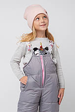 Качественный зимний комбинезон на девочку, фото 2