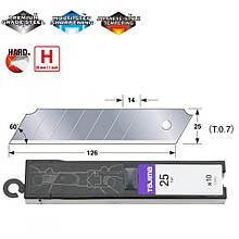 Сегментные лезвия Premium 25 мм TAJIMA DORA Endura Blades, 10шт (CB65)