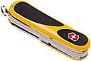 Нож складной, мультитул Victorinox Evogrip S18 (85мм, 15 функций), желтый 2.4913.SC8, фото 5