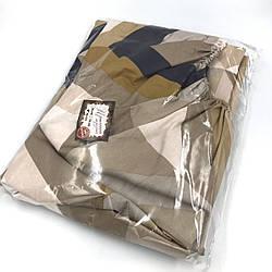 Простынь на резинке из сатина 160х200  в ассортименте Классика геометрии