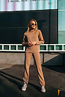 Вязаный брендовый костюм Domenica женский (4 цвета, р.42-46 UNI)