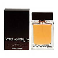 Dolce & Gabbana The One For Men туалетная вода 100 ml. (Дольче Габбана Зе Уан Фор Мен), фото 1
