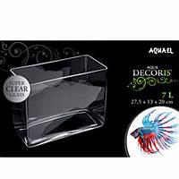 Аквариум Aquael 113503 Aqua Decoris re аквариум прямоугольник 7л