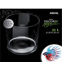 Аквариум Aquael 113498 Aqua Decoris Zylinder аквариум цилиндр 21л
