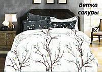 """Комплект постельного белья """"Ветка сакуры"""" Бязь, хлопок"""