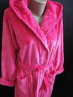 Женский теплый халат для дома