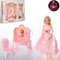 Игрушечная мебель для куклы 6950-A трюмо стул аксессуары кукла 30 см