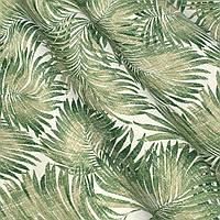 Ткань для штор с тропическим рисунком ширина 180 см